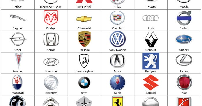Car Brands Starting With P >> Car Logos And Brands Azs Cars