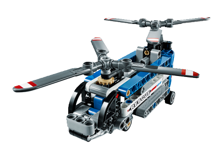 Twin-rotor Helicopter 42020