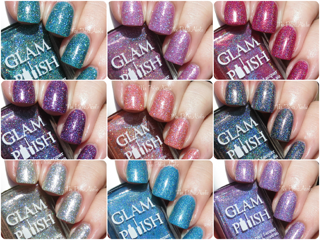 The PolishAholic: Glam Polish Knockout Collection Part 2 Swatches ...
