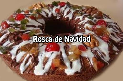 Recetas navideñas,  tortas y pasteles, rosca,