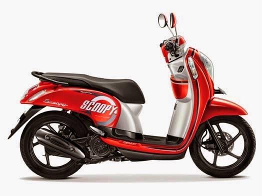 Honda Scoopy eSP Sporty Estate Red