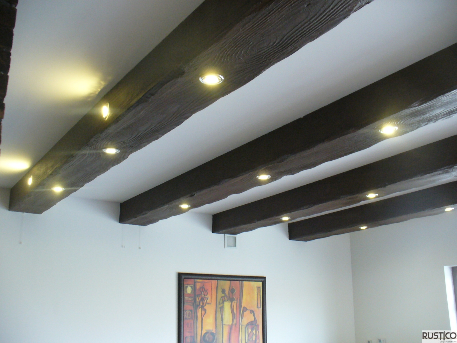 How to make faux beams for ceilings best 25 faux wood for Adding wood beams to ceiling
