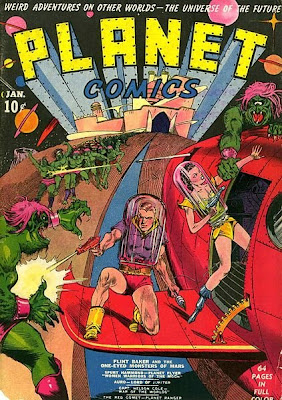 Planet Comics comic cover
