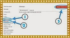 enviar sitemap a google webmaster tools
