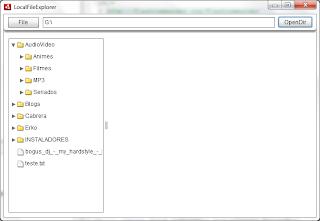 Local File Explorer