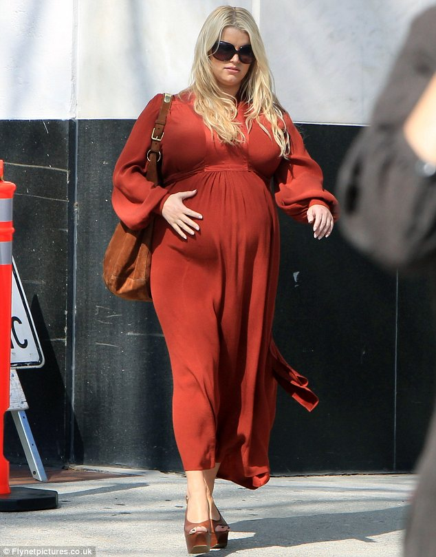 Jessica Simpson Pregnant Weight