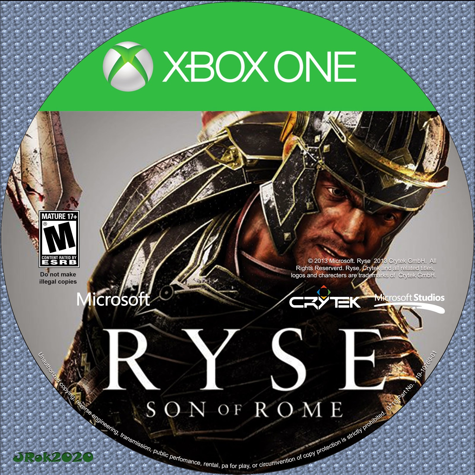 Label Ryse Son Of Rome Xbox One