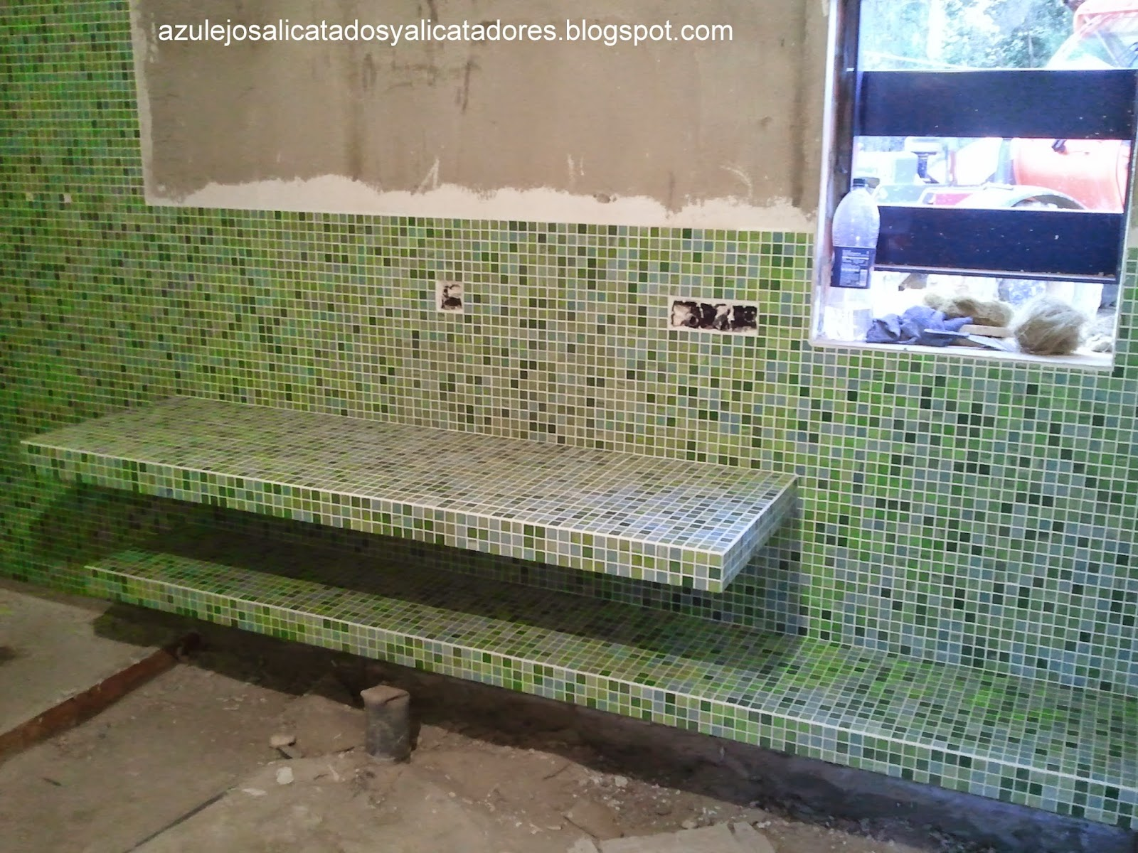 Azulejos Baño Lechada Cemento:AZULEJOS, ALICATADOS Y ALICATADORES: enero 2015