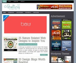 Gheting WordPress Theme