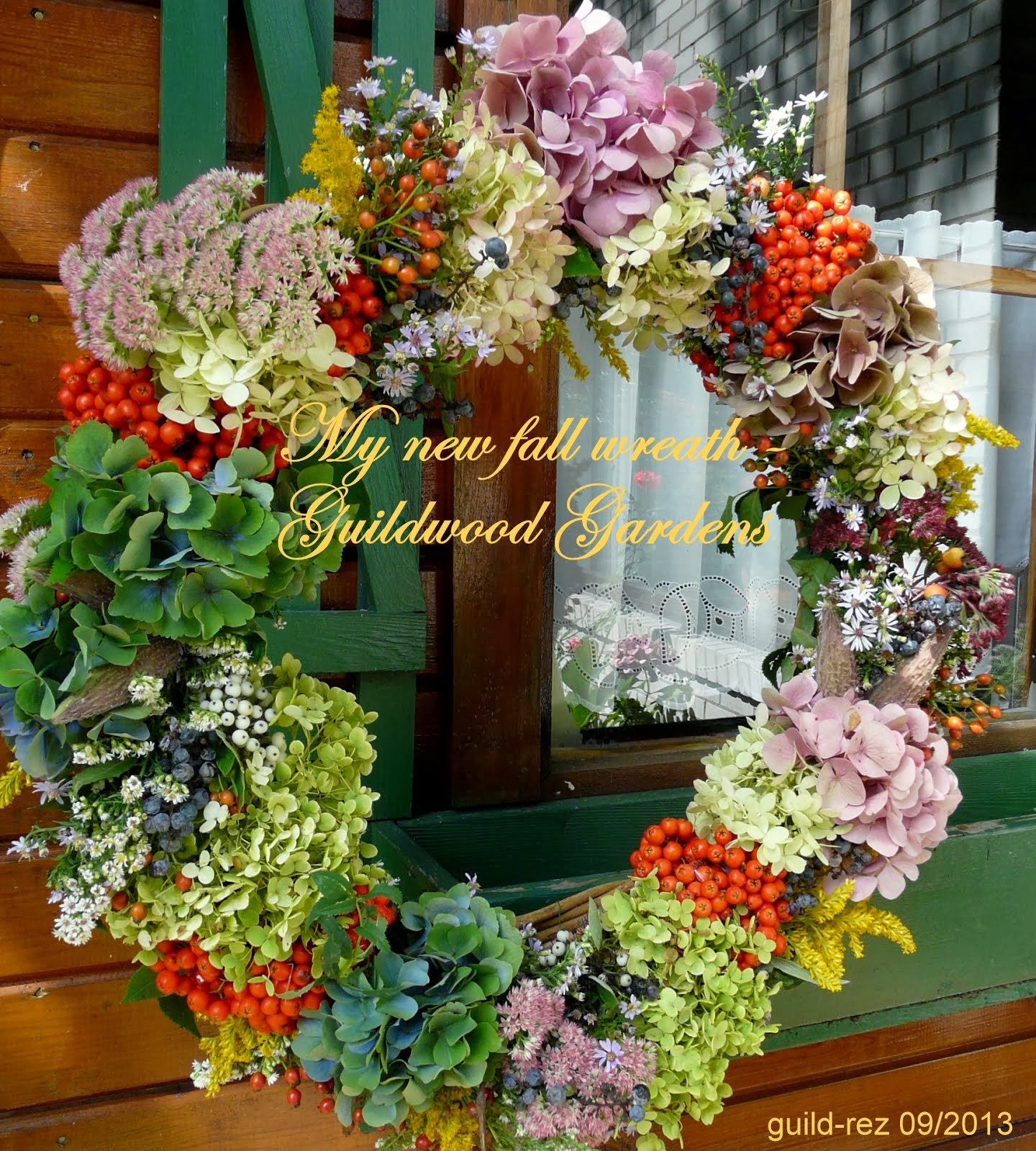 2013 new fall wreath