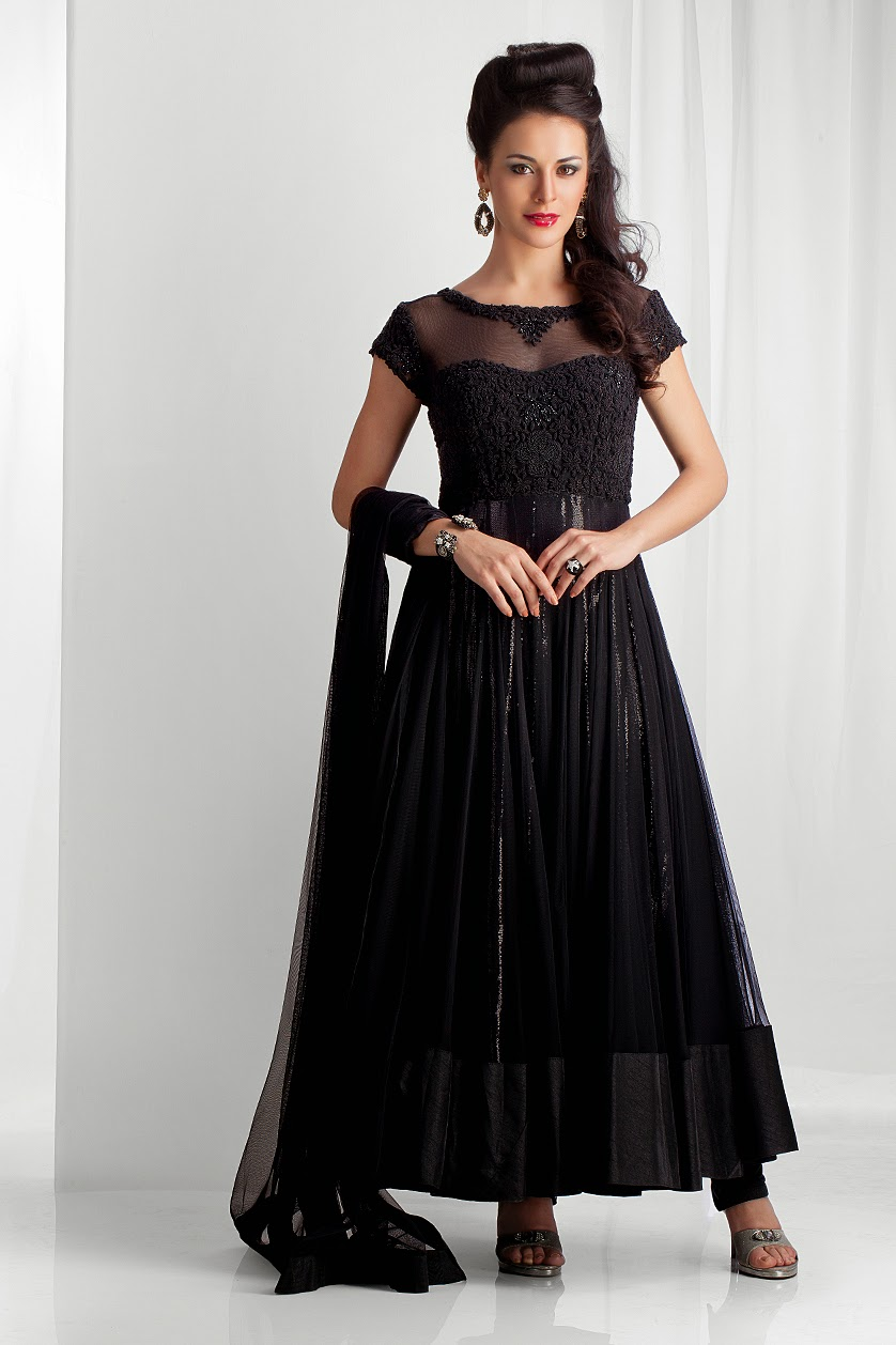 The 2014 wedding anarkali suits collection latest fashion for Suit dresses for weddings