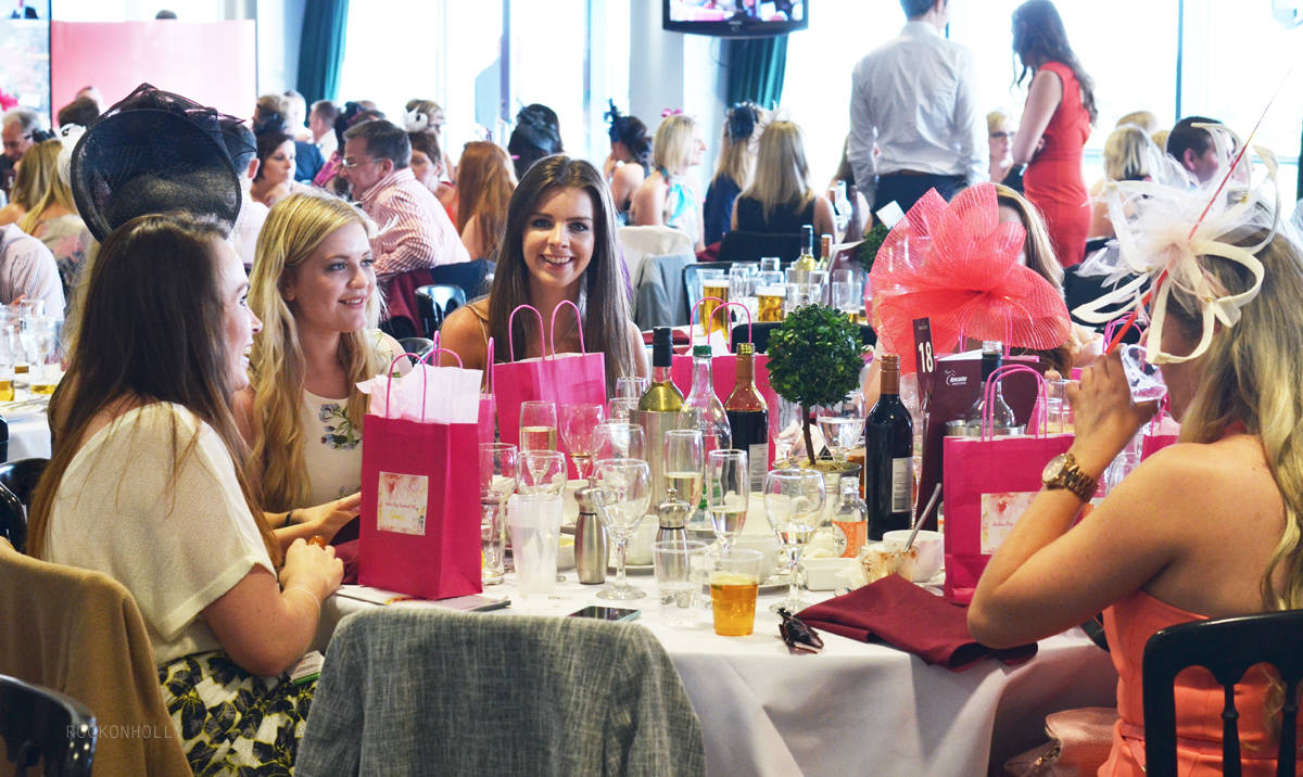 Bloggers at Ladbrokes Ladies Day at the Races - Conduit Restaurant