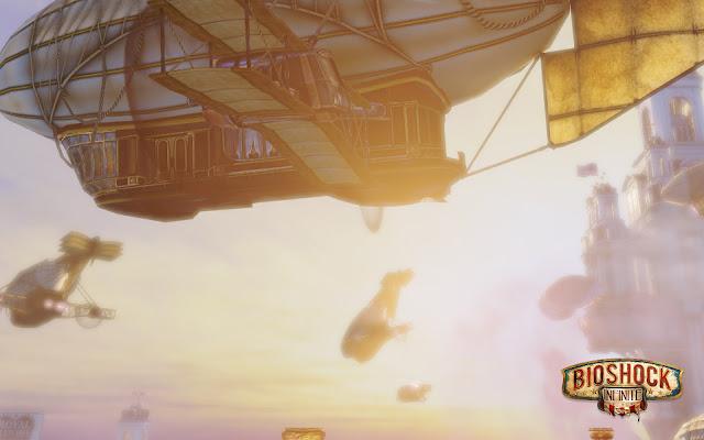 Golden Zeppelins - BioShock : Infinite