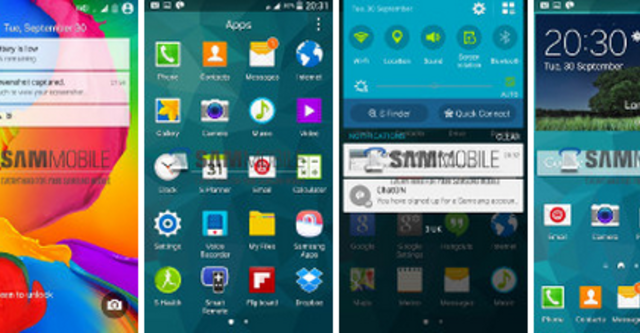 Galaxy S5 chạy thử Android L