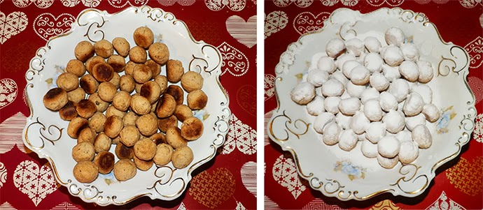 A Guide to Homemade Christmas: Recipe for Christmas Home-Baked Snowballs with white wine and Turkish delight