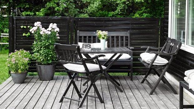 Humlebæk bænk & stol_shop havemøbler online hos House of Bæk & Kvist