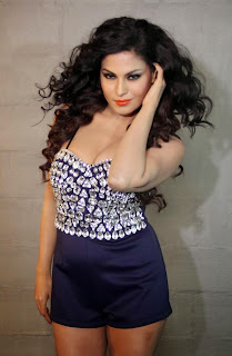 Veena Malik Latest Picture Gallery in Short Gown