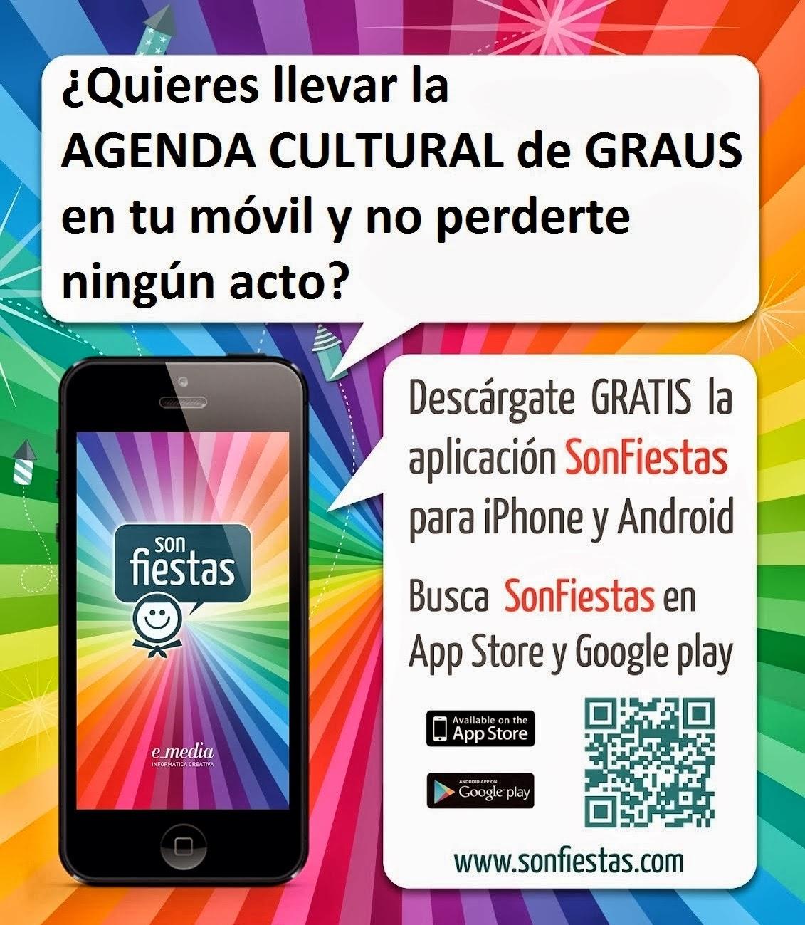 DESCÁRGATE LA APP CULTURAL DE GRAUS