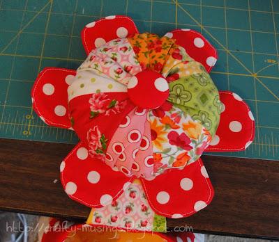 Abbey Bag, flower detail