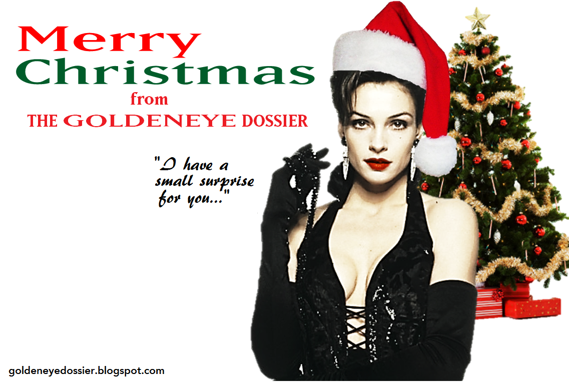The GoldenEye Dossier: Merry Christmas Bond Fans!