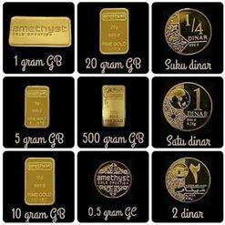 Pelbagai Goldbar & Coin