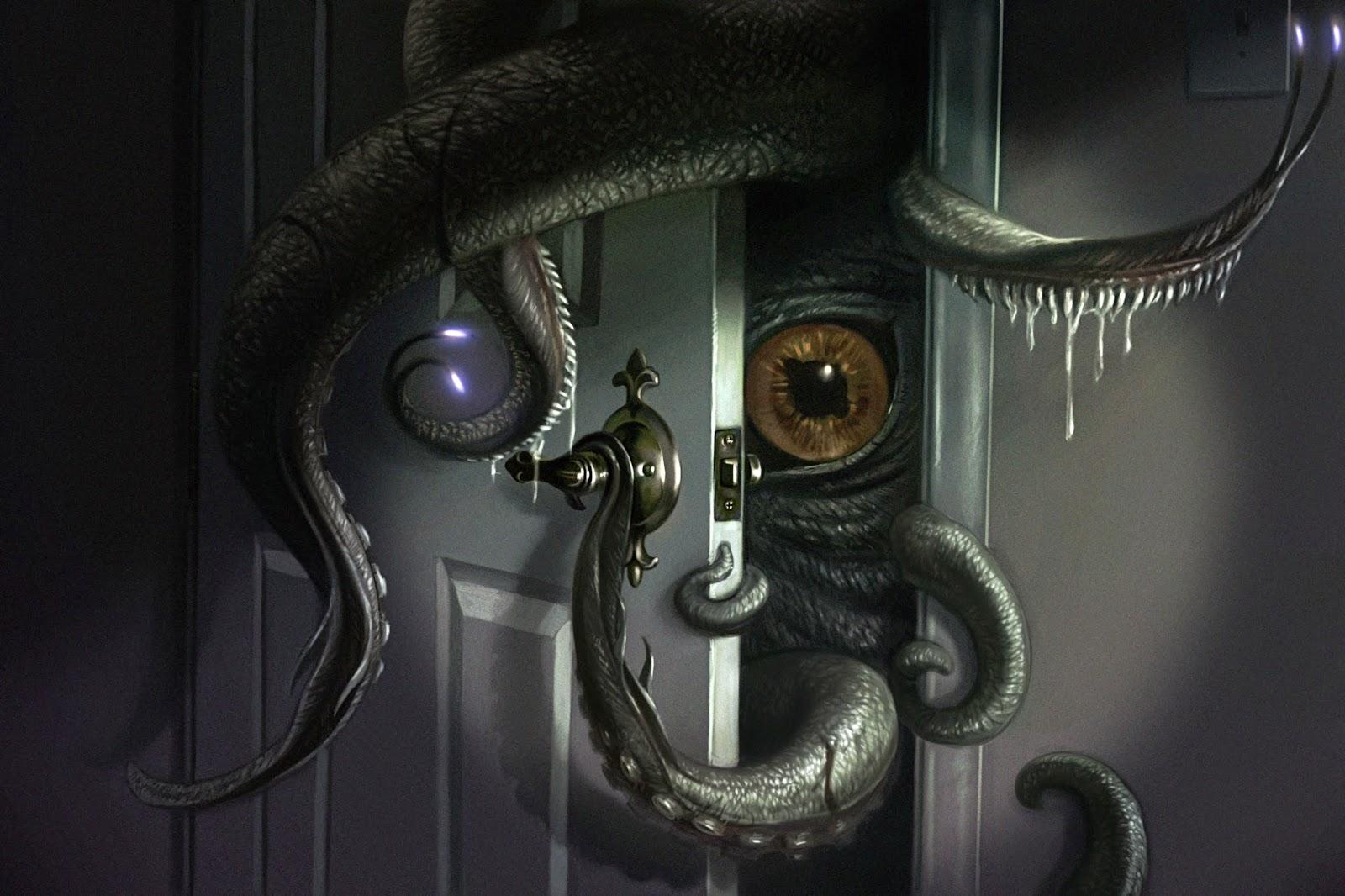 illustration de LaVata E. O'neal représentant un Monstre dans le placard