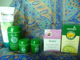 Indie: podsumowanie zakupów kosmetycznych (Chennai)
