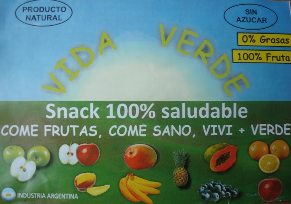 VIDA VERDE - SNACKS 100% SALUDABLES