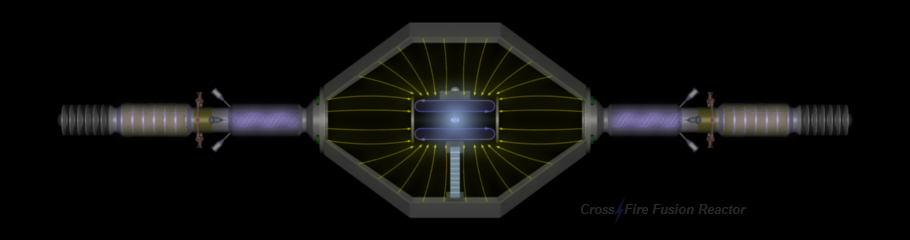 CrossFire Fusion Reactor - Colliding Beams