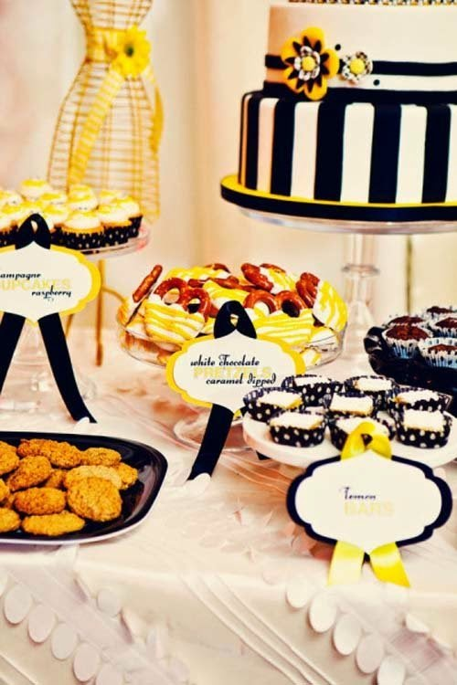Wedding decoration ideas with yellow and black colors from studio b wedding decoration ideas with yellow and black colors from studio b event designs junglespirit Choice Image