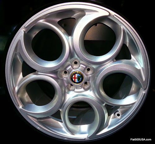 Alfa Romeo 4C Wheel