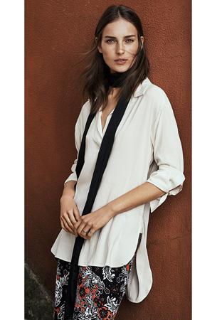 moda H&M túnica otoño invierno