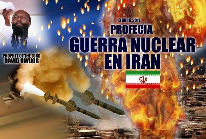GUERRA NUCLEAR VIENE A IRAN