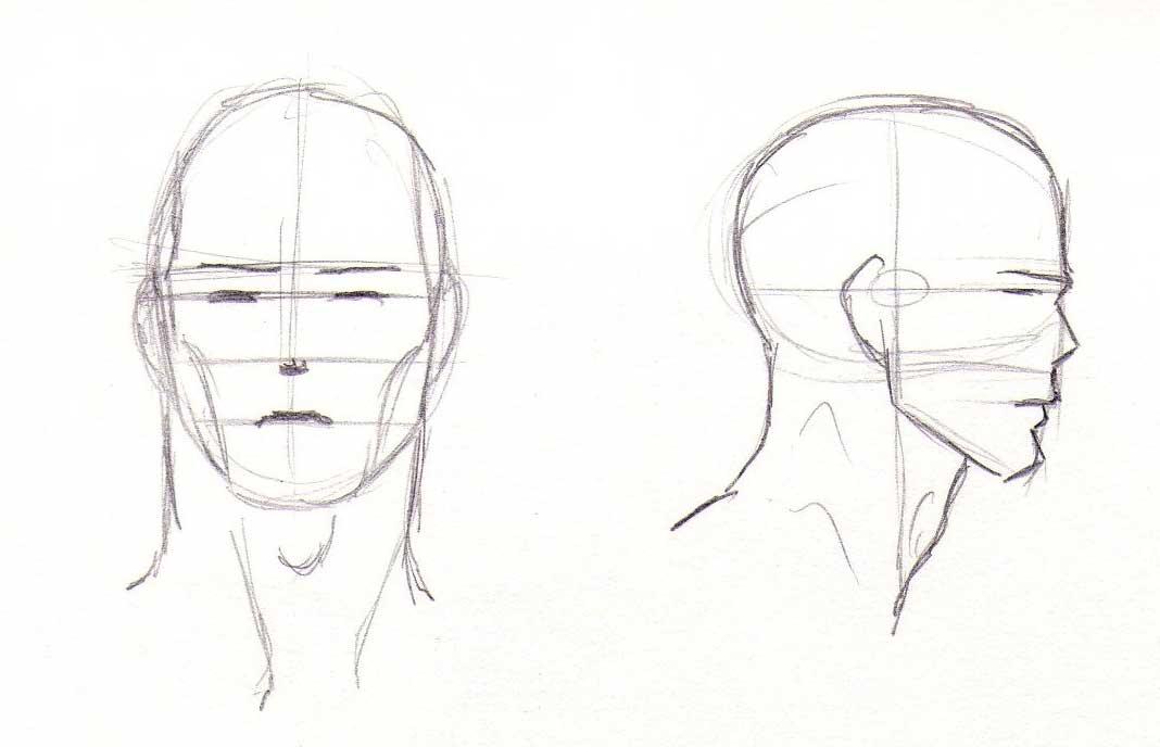 Blog de claire matz ao t 2012 - Profil dessin ...