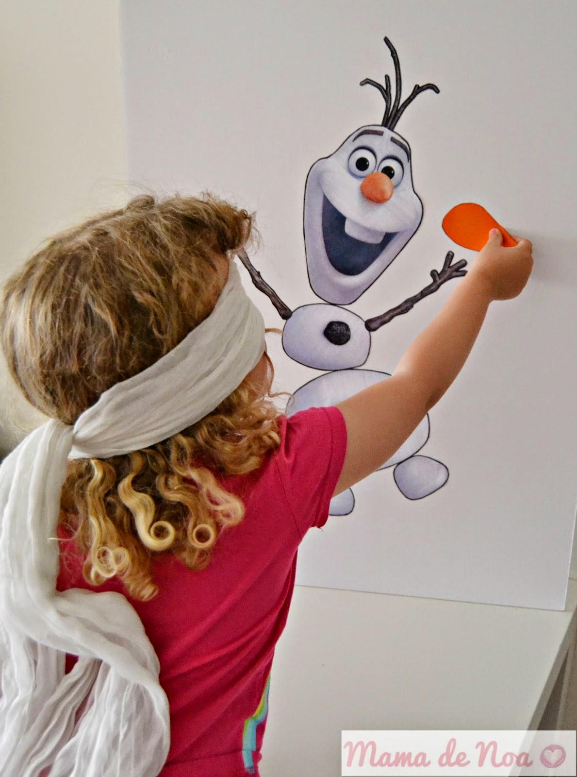 diy pon la nariz a olaf frozen cumpleaños juegos blog niños