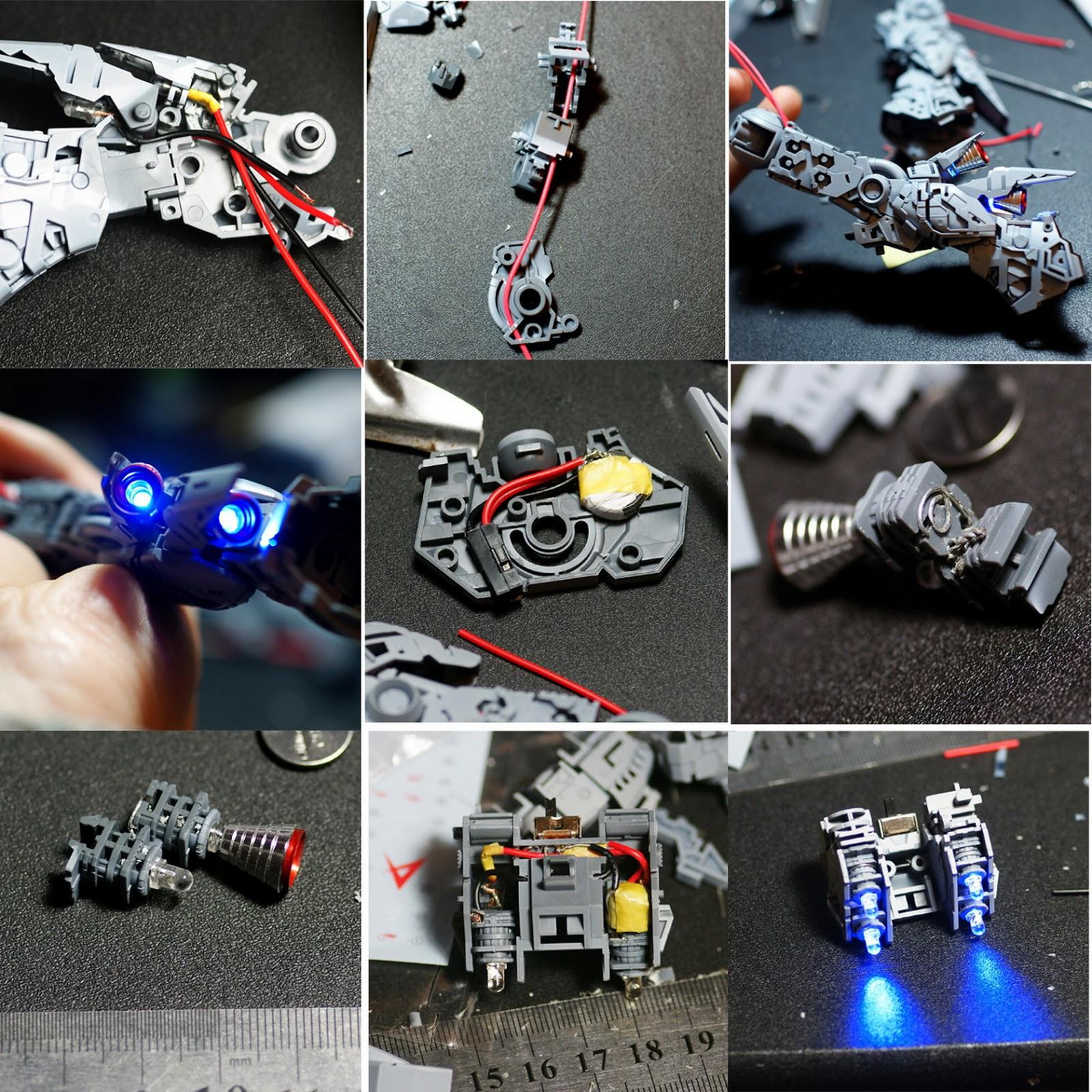 MG 1/100 Nu Gundam Ver.ka - Customized Build w/ LEDs