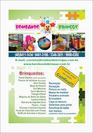 Sorteio Bombando Brinque Recreação e Locação de Brinquedos