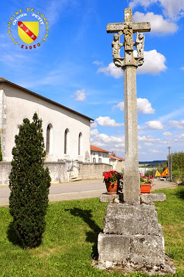 DOMMARTIN-SUR-VRAINE (88) - La croix-calvaire (1611)
