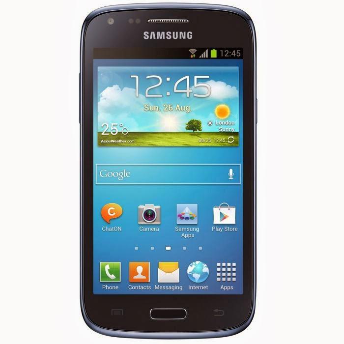 Samsung Galaxy Core Bleu 8Go smartphone 4.3 pouces