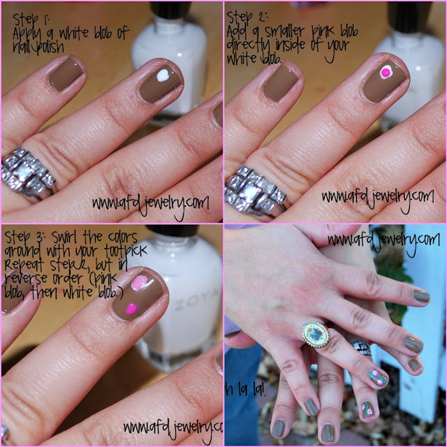 nail art: nail flowers tutorial