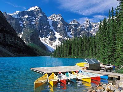 Lago Moraine – Canadá