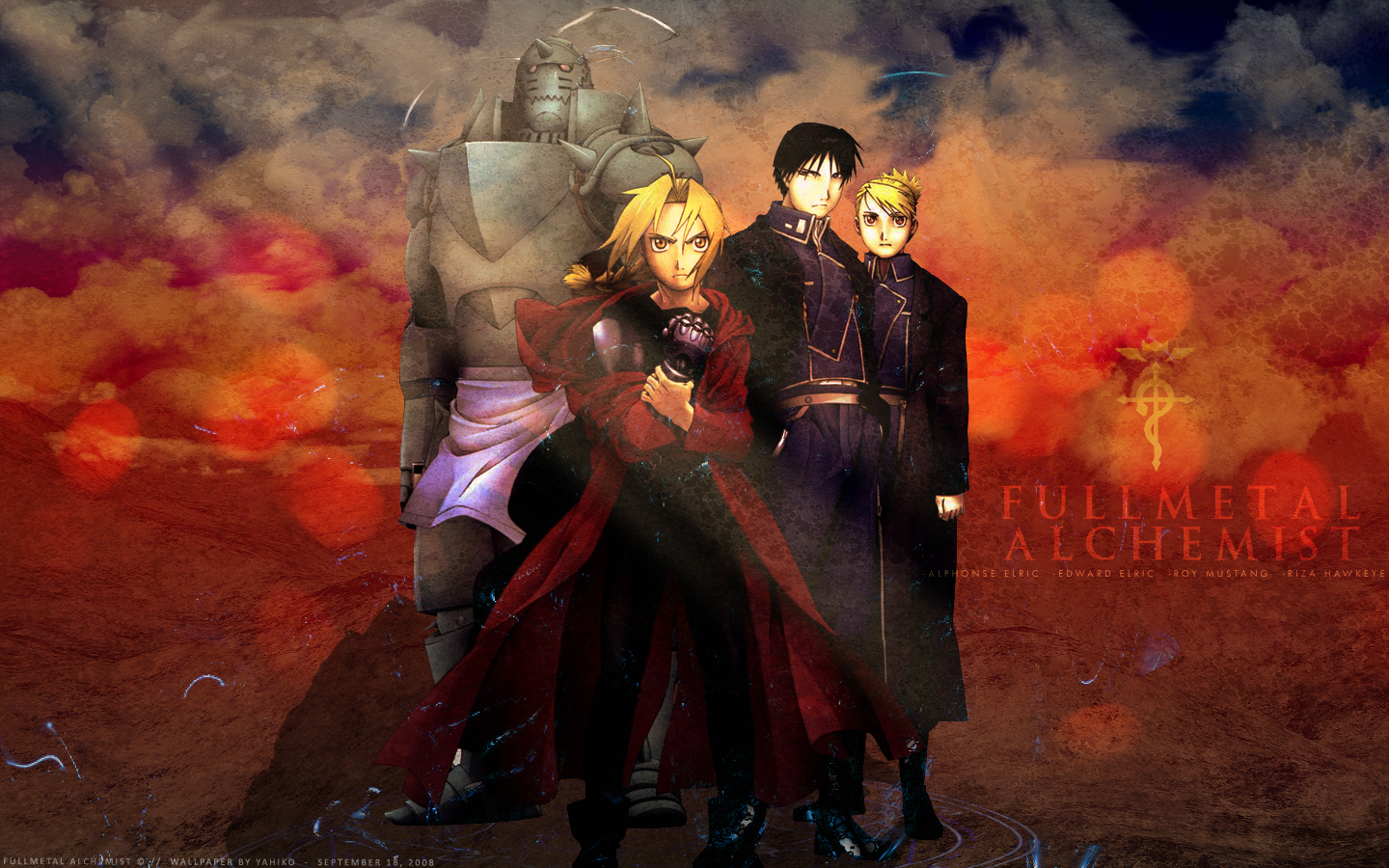 Manga And Anime Wallpapers: Fullmetal Alchemist HD Wallpaper