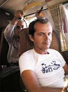 Michelangelo Antonioni and Jack Nicholson