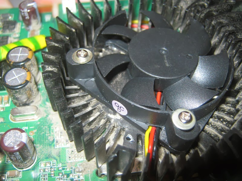 Почему не работает кулер на процессоре