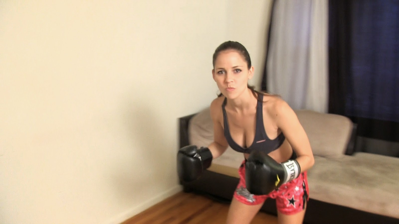 Porn female boxing domination