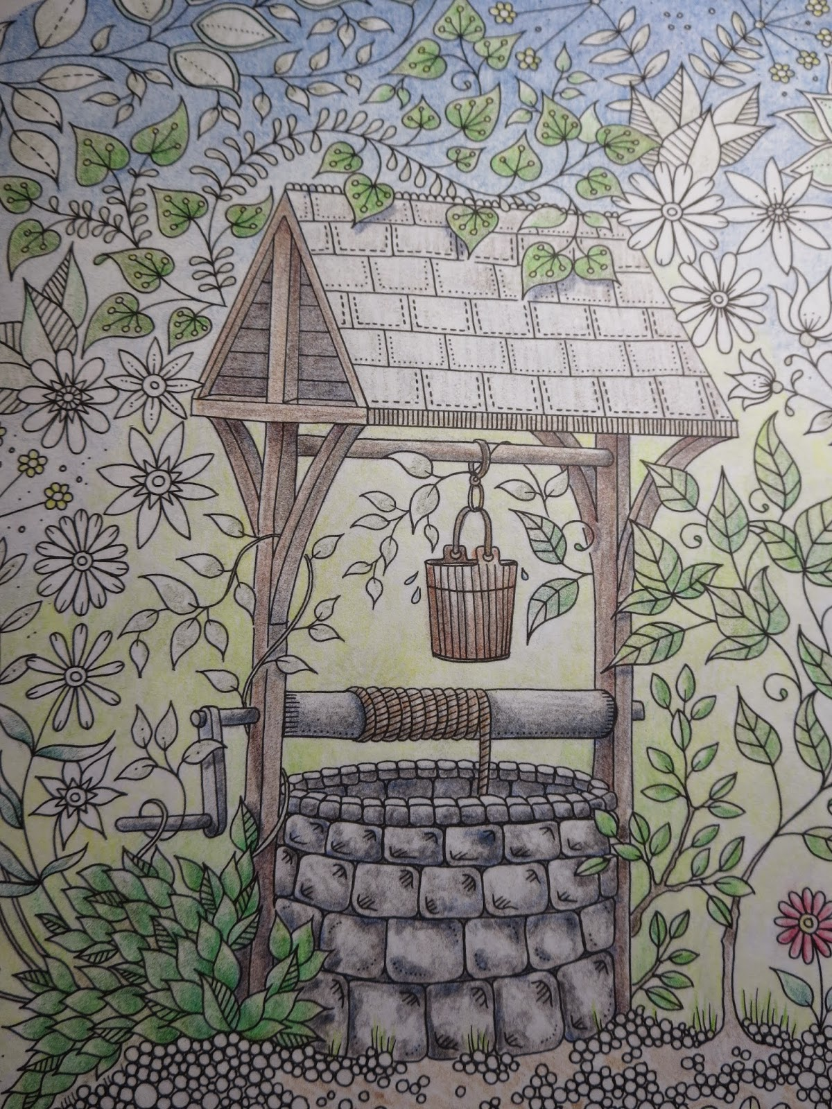 Passion For Pencils My Secret Garden Colouring Book Part 2