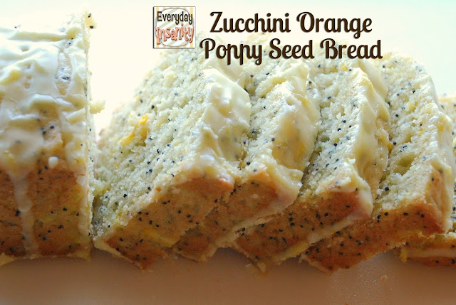 Zucchini Orange Poppy Seed Bread