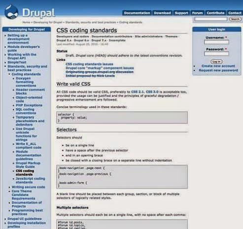 drupal-css-style-sheet