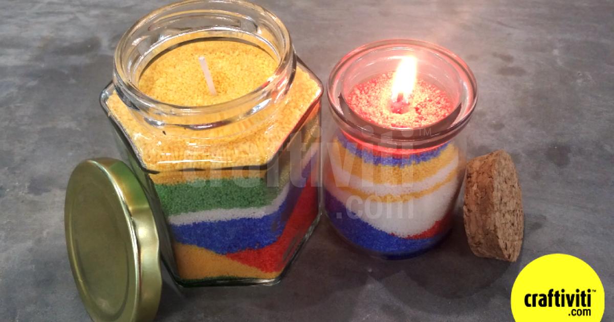 Craftiviti Diy Candle Making With Craftiviti Candle Waxbeads