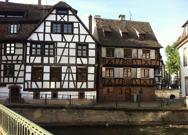 Дома Страсбурга.
